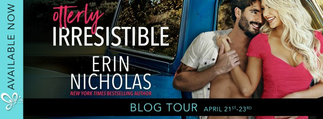 Otterly Irresistible by Erin Nicholas blog tour banner