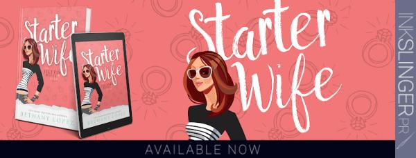 Starter Wife blog tour banner