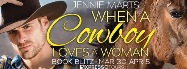 When a Cowboy Loves a Woman blitz banner
