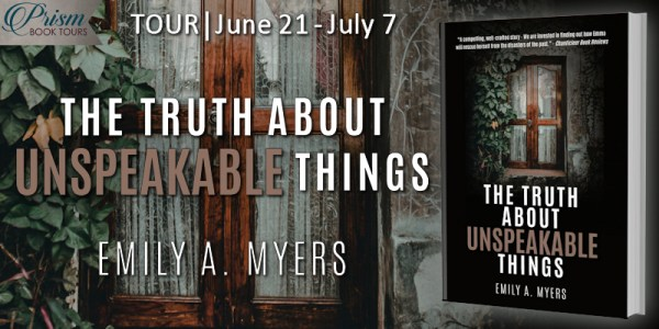 The Truth About Unspeakable Things blog tour banner