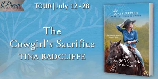 The Cowgirl's Sacrifice blog tour banner