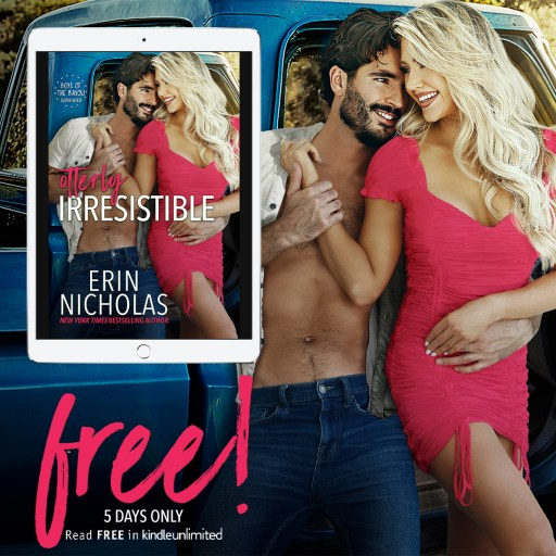 Otterly Irresistible by Erin Nicholas FREE for 5 days only graphic (Read FREE in Kindle Unlimited)