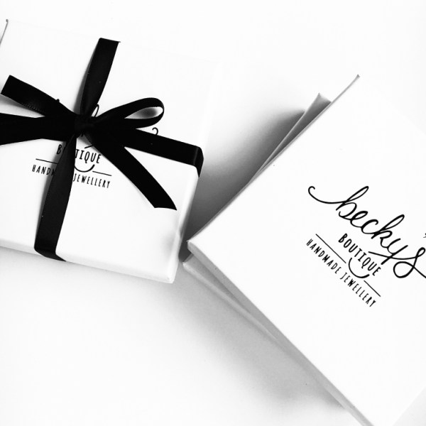 All of our jewellery arrives beautifully packaged in our signature gift wrap.