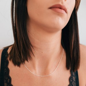 Satellite Beaded Necklace