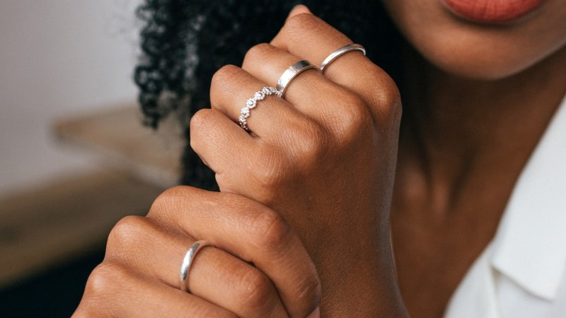 Up your layering game and ring stack with our collection of sterling silver rings