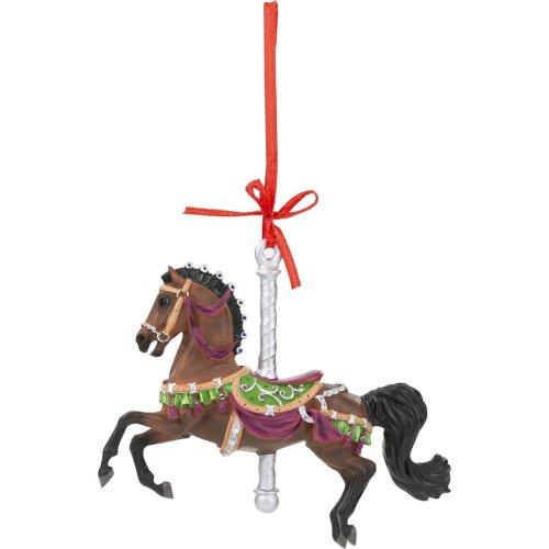 herald carousel ornament