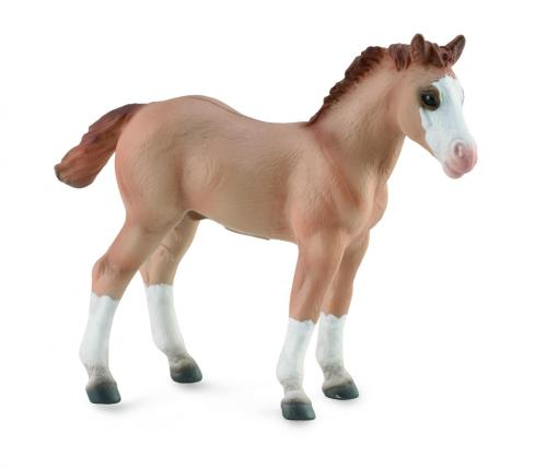 Corral Pals Red Dun Quarter Horse Foal