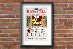 Hay Y'all - Poster for Rochelle Center