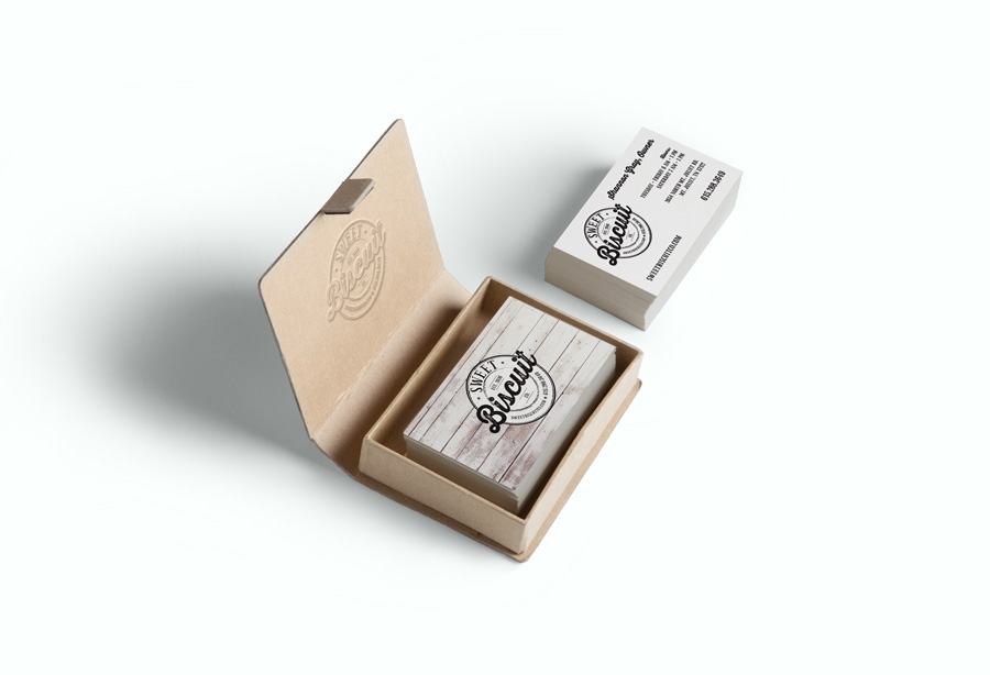 Sweet Biscuit Company Business Cards