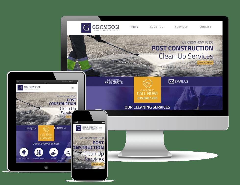 Grayson Building Services Website