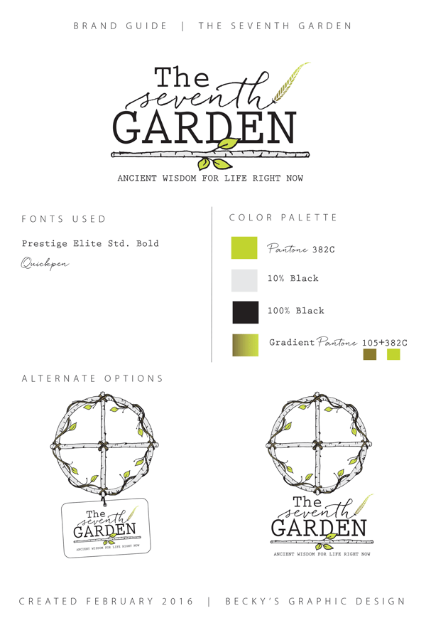 The Seventh Garden Brand Guide