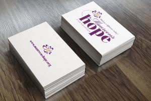 Maureen's Hope Logo design