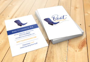 Boot Your Baggage Business Card