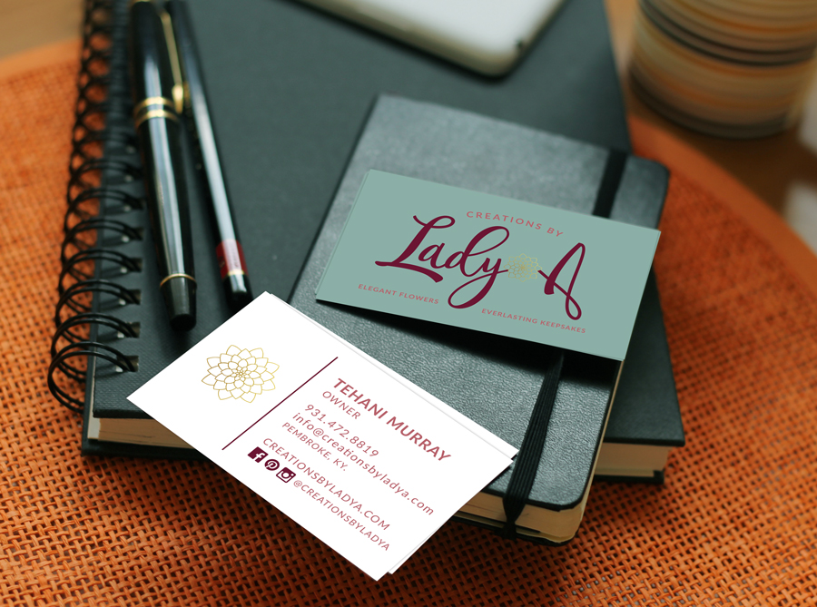Creations By Lady A - Business Card