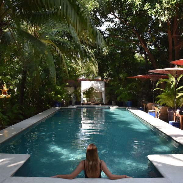 Escaping To A Garden Oasis At The Pavilion Hotel in Phnom Penh