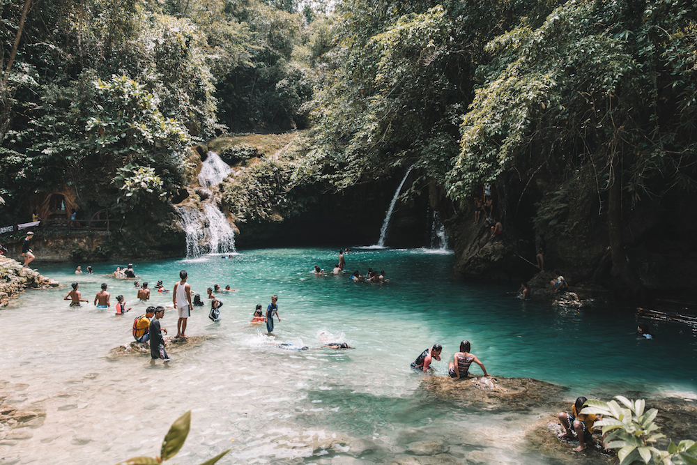 A Guide To Visiting Kawasan Falls, Philippines