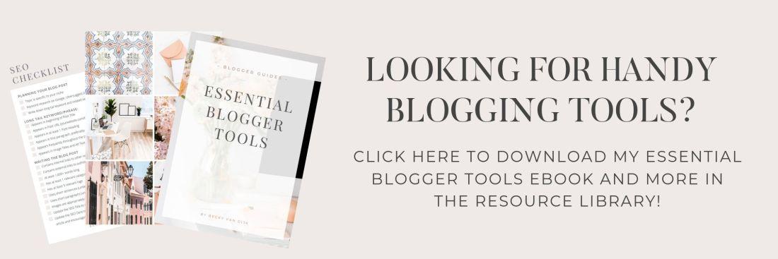 blogging rosources
