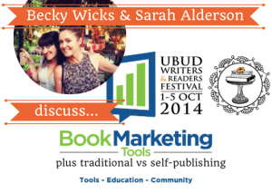 Becky Wicks & Sarah Alderson discuss 10 Essential Marketing Tips for New Authors…