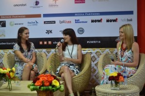 What I learned about writers at the Ubud Writers & Readers Festival 2014…