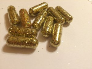 Pills that make you poop glitter…