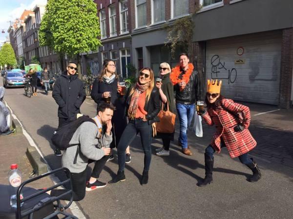 Friends in Amsterdam
