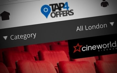£11 for two Cineworld tix