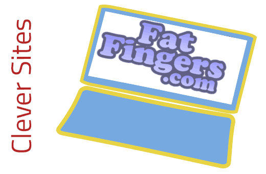 Clever Site: Fat Fingers