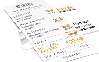 WIN! We've two annual Hi Life Diners Cards up for grabs