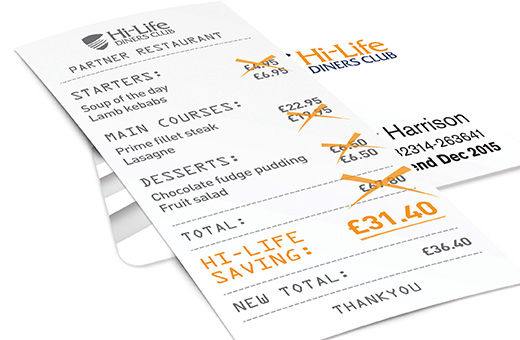 Win! hi life diners card