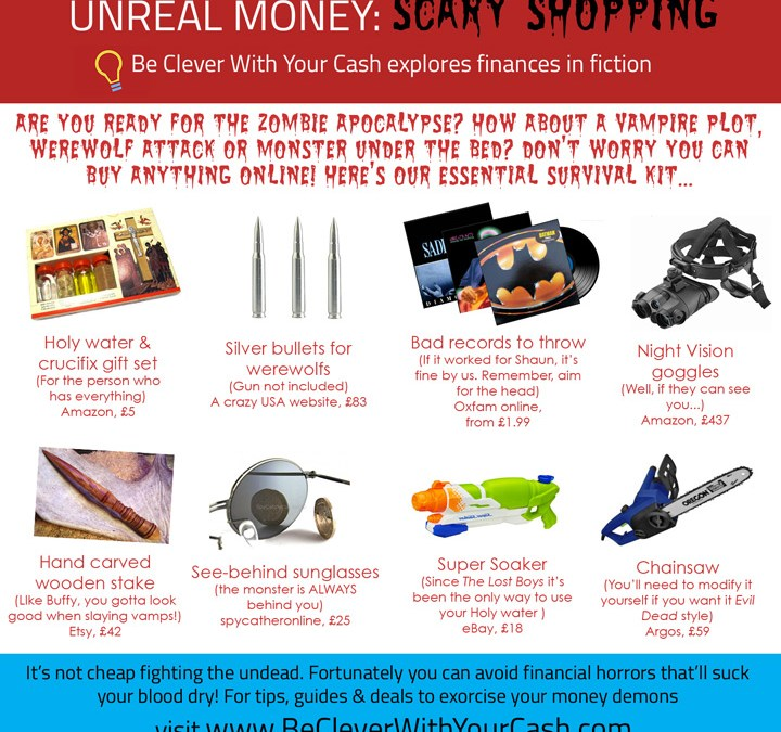 Unreal Money: Scary Shopping