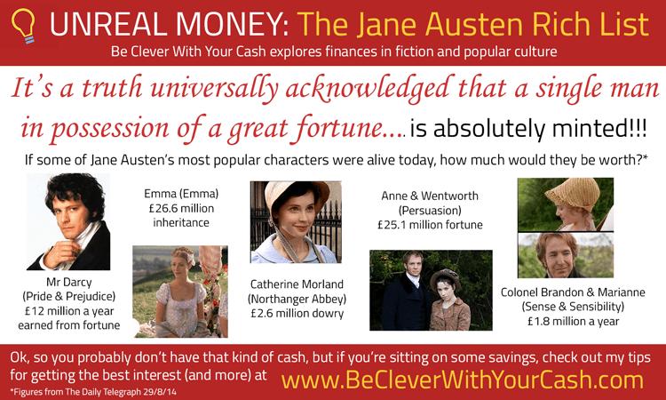 Unreal Money: The Jane Austen Rich List