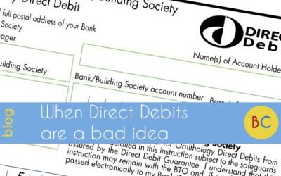 When Direct Debits are a bad idea