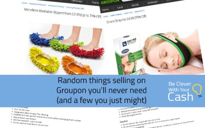 Random things selling on Groupon you'll never need (and some you might)