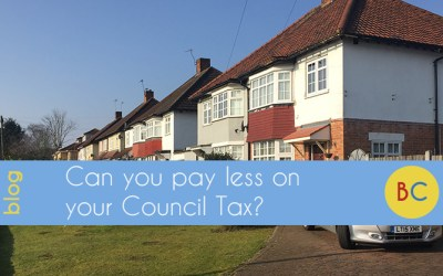 Can you pay less on your Council Tax?