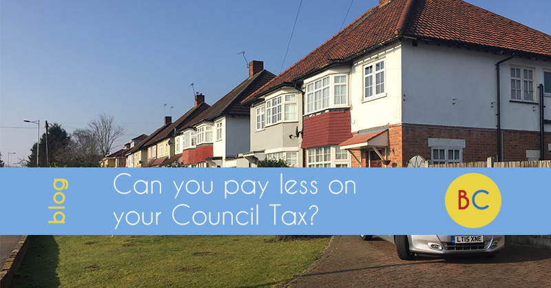 can you pay less on your council tax