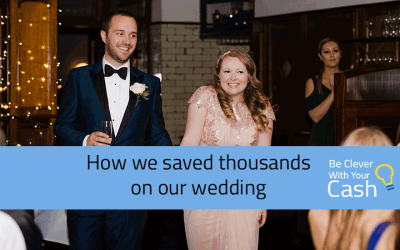 How we saved thousands on our wedding