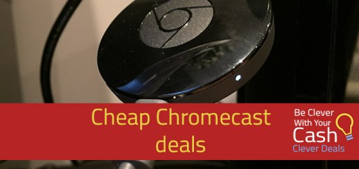 cheap chromecast deals