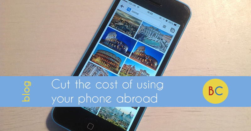 Cut the cost of using your mobile phone abroad