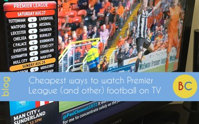 Cheapest ways to watch Premier League football on TV