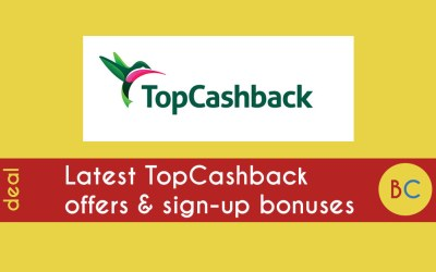 Latest TopCashback deals, plus sign-up offers inc free £10 bonus