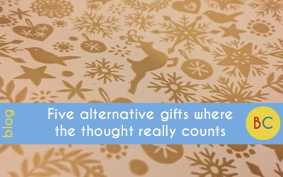 Five alternative gifts where the thought really does count