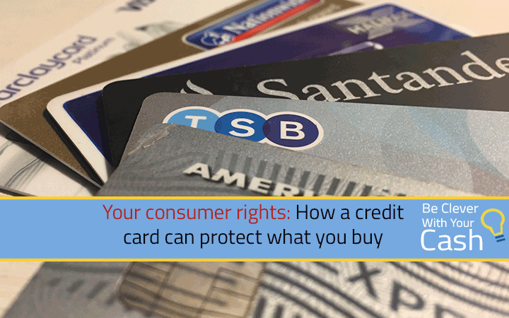 How a credit card can protect what you buy