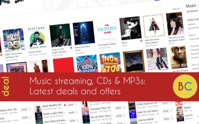 Latest music streaming deals inc a year of Spotify for price of 10