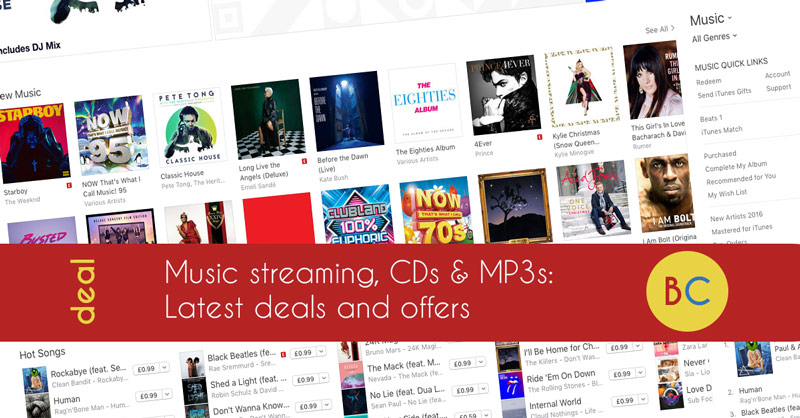 Latest music streaming deals inc £1.99 Spotify for two months, four months free Deezer