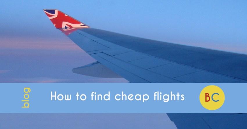 My tricks to save money on flights