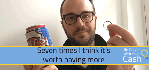 Seven times it's worth paying more