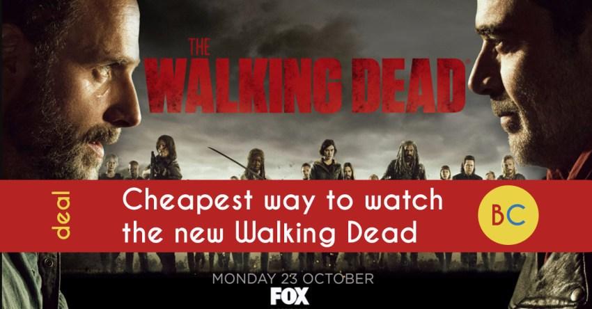 Cheapest ways to watch The Walking Dead season 9