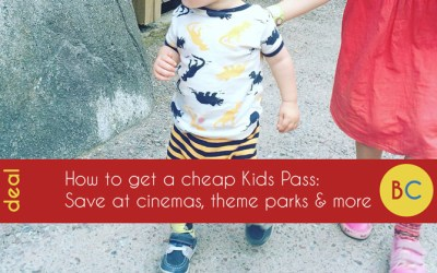 Kids Pass offers: Get 30 days for £1, then £10 off for the year