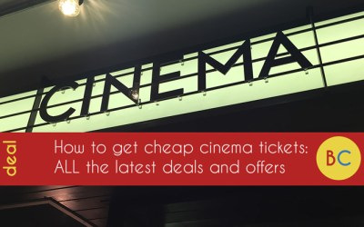 Latest cheap cinema tickets offers and deals (October 2019) inc Odeon, Vue, Cineworld and more