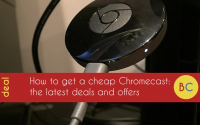 Cheap Chromecast deals: £10 off